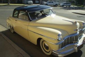 Classic Deluxe Coupe.Looks Original 318 V8 AT Black Plate Ca. Car Mopar Hot Rod Photo