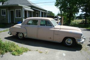 1952 Desoto 4 door with the Hemi engine, runs great and ready for restoration.