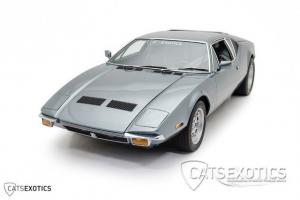 De Tomaso Pantera 42,178 ORIGINAL miles Fully Documented Always Fully Serviced