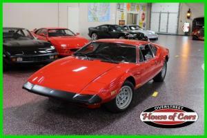 1974 De Tomaso Pantera, 11k original miles, #'s matching, 351ci, 5-speed ZF