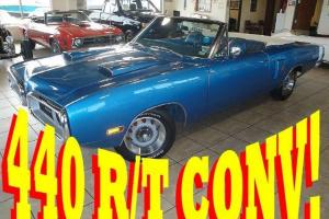 REAL RT CONVERTIBLE 440 V8 AUTOMATIC 1 of 203 BUILT FULLY RESTORED!