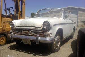 Hillman Minx Convertibles, 1961 and 1962 Projecsts for sale.