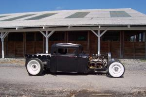1930 Hudson hotrod pickup, ratrod,street rod, scta, rat rod, chopped, channeled.