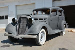 1934 Hudson, Project, Mostly complete, minimal rot 4 suicide Doors Photo