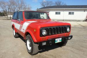 1979 INTERNATIONAL HARVESTER SCOUT II RALLYE PACKAGE. FULLY RESTORED 4x4