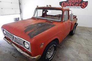 1973 Red RunsDrive Great Stepside 292V8 4spd Good Project!