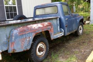1968 International 1200c 3/4 ton 4-speed 4wd UNDER 2K Original Miles!!