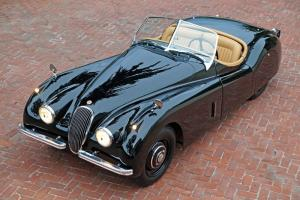 1952 Jaguar XK120 OTS Roadster: Documented, Numbers Matching, Original Colors