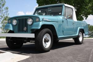 1969 Kaiser Jeep Jeepster Commando Pickup! 225V6 New Paint Ownership history 4x4 Photo