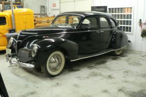 1938 Lincoln Zephyr Four Door Sedan