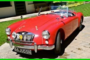 56 MGA Roadster RWD Coupe 3-Speed Manual Rebuilt Engine & Tranny NEW YORK