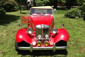 1952 MG TD by FiberFab