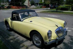 MG MGA, 1960 fully stock in excellent shape