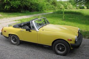 1978 MG Midget MK IV Convertible 2-Door 1.5L