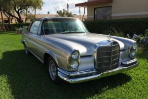 1969 Mercedes Benz 280SE Coupe DB 180 Silver