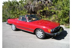 1982 Mercedes Benz 500SL Euro Model Low Miles