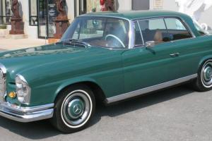 1966 Mercedes Benz 250SE COUPE 63,422 original miles GREAT CONDITION CLASSIC