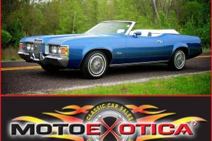 1972 Mercury Cougar XR-7 Convertible -Fully optioned - 351 W - Automatic - LQQK!