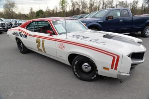 1970 429 CI CYCLONE II Spoiler Clay Woods Documented #21 Woods Brothers Photo