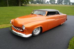 1951 Mercury convertible custom