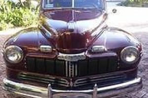 1946 Mercury Eight coupe. flat eight runs great