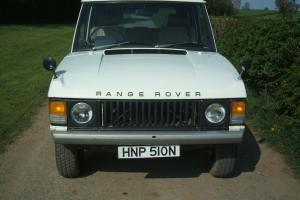 1975 ROVER RANGE ROVER 2 DOOR CLASSIC WHITE