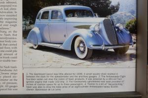 1936 NASH AMBASSADOR 8 - 4 DOOR SEDAN