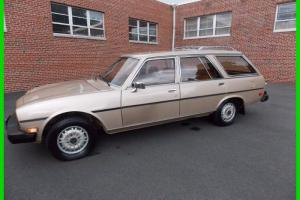 80 PEUGEOT 504 Diesel Wagon/ Original Miles and Condition Photo
