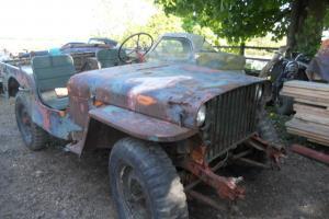 1942 Willys Jeep stat grill WW2 MB /CJ GPW For Restoration