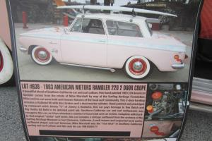 1963 American Rambler   Surfing  TRIBUT!! FULLY RESTOTED!! MAKE OFFER SHOW CAR