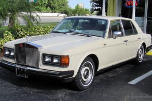 CLASSIC 1986 ROLLS ROYCE SILVER SPIRIT LUXURY CAR 73K MILES NAPLES FLORIDA