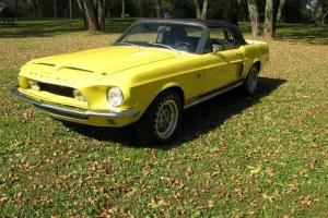 1968 RARE SHELBY 500KR CONVERTIBLE