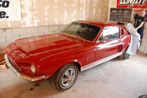 1968 Ford Mustang Shelby GT500KR Survivor Barn Find 66K Original Miles