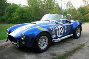 2000 Superformance MKIII (Cobra) 2,600 miles!