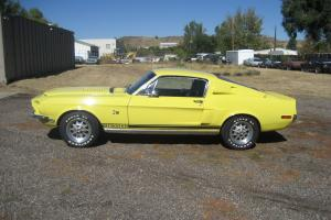1968 Shelby GT 500 KR Ford Mustang 428 CJ Special Yellow paint WT6066