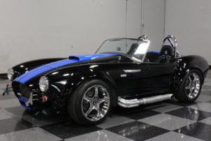 "FACTORY 5, SLICK COLOR COMBO, 5.0 FUEL INJECTED, GT40 HEADS, 17"" COBRA R RIMS!"