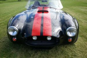 1966 AC COBRA 427SC Shelby FFR 302 5-Speed Black & Red Turn Key Excellent build