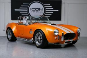 1965 SHELBY COBRA REPLICA. 302-345HP/5 SPEED TRANSMISSION-COILOVER SHELL VALLEY