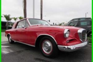 1962 Studebaker Grand Turismo Hawk Rare RWD Coupe CALIFORNIA