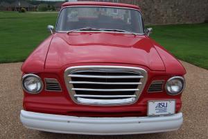 1963  Renovated Red Studebaker Champ Pickup 8E7 4.8L