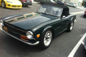 1968 Triumph TR6 / Restored / Skyline Engine and Driveline Photo
