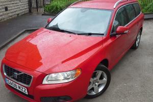 **DIRECT EX COMPANY 2008 VOLVO V70 SE LUX D5 AUTO ESTATE /FULL SERVICE HISTORY**