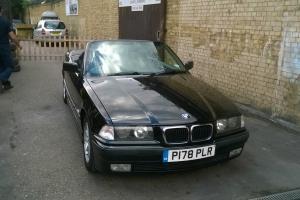 1997 BMW 328I CABRIO AUTO BLACK Photo