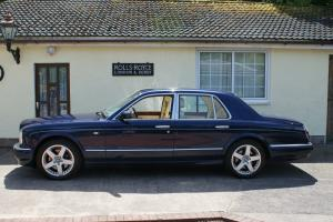 2001 Bentley Arnage Red Label Turbo,Royal Blue