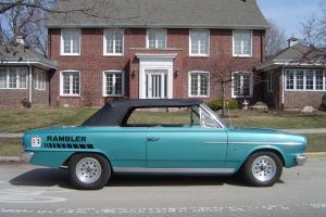 1964 AMC Rambler Convertible Hurst pro touring hot street rod drag bel air alt,