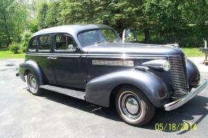 1937 BUICK CENTURY fastback sedan