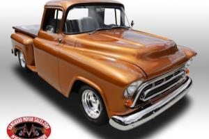 1957 Chevrolet Pickup Resto Mod Air Gorgeous Frame Off Restoration Show Truck
