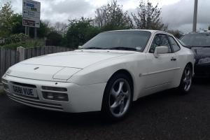 1990 PORSCHE 944 S2 WHITE