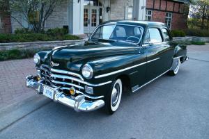 1950 Chrysler Windsor Club Coupe. 72k Orig mi. Pristine original survivor
