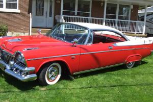 1958 DODGE PLYMOUTH DESOTO CHRYSLER ROYAL CORONET D 500 LANCER 2 DOORS HARDTOP